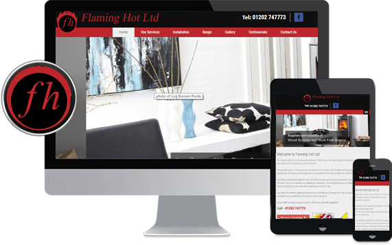 Mobile friendly website Poole